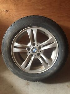 BMW X3 Alloy Rims and Winter Tires