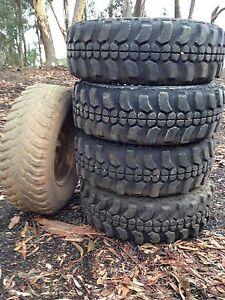 Mud train tyres 31x10.5 15R Wickliffe Ararat Area Preview