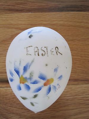 Glass Victorian Easter Egg Hand Blown