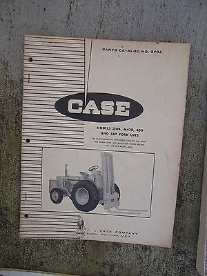 1965 Case Fork Lift 310b M420 430 440 Parts Catalog B904 More Case In Store U