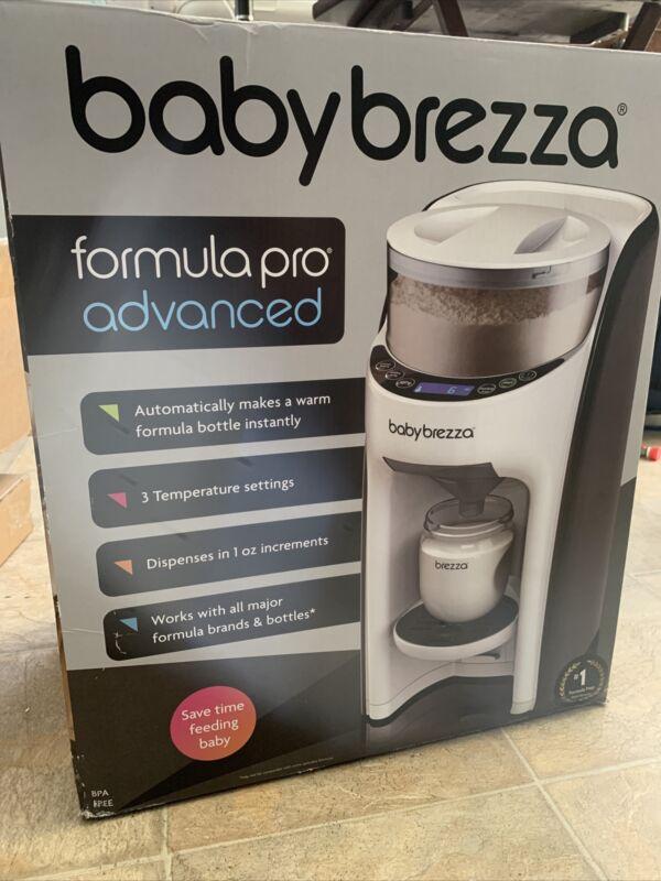 Baby Brezza Pro Advanced Formula Dispenser - White/Black - GallyHo