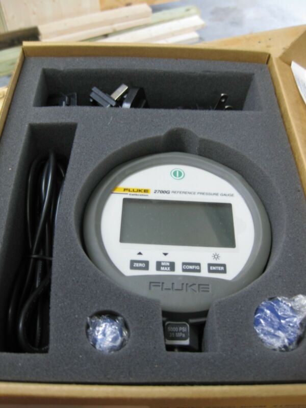 FLUKE 2700G Reference Pressure Gage 5,000 PSI