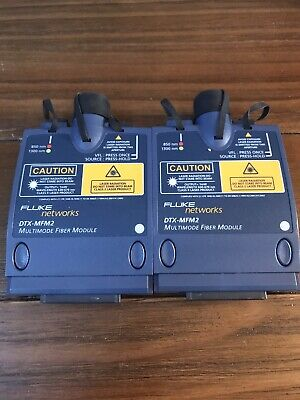 Fluke Networks Dtx-mfm2 Multimode Fiber Modules Dtx1800 Analyzer