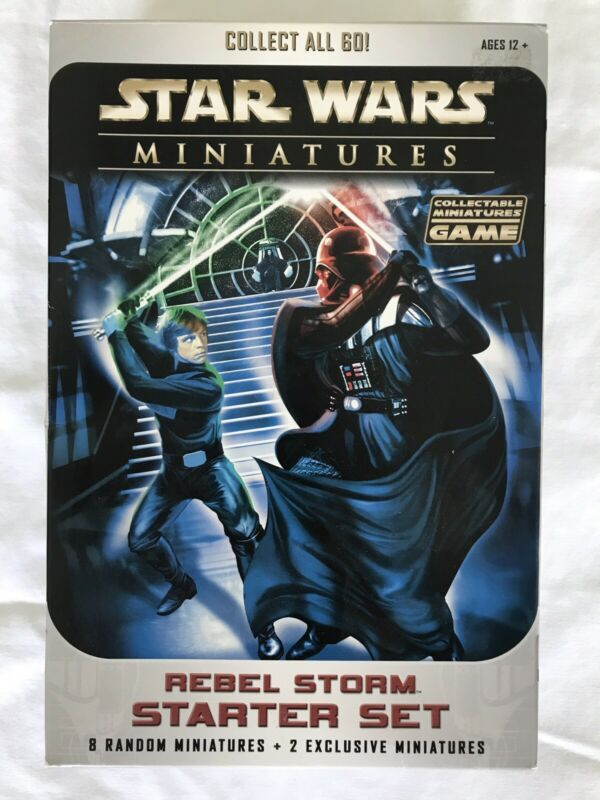 Star Wars Miniatures Rebel Storm Starter Set - Wizards of the Coast