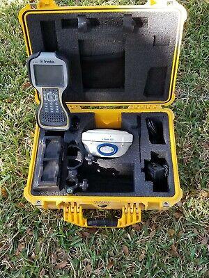 Trimble R6 Model 2 Gps Glonass Rtk Rover Receiver Kit W Tsc3 Data Collector
