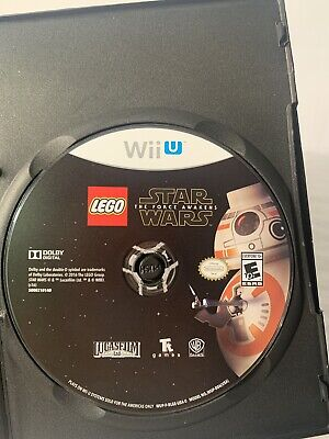 LEGO Star Wars: The Force Awakens - Wii U Standard Edition, Good NO Case