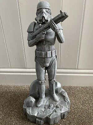 "Star Wars Stormtrooper 16"" Figure Garden Ornament Statue Resin"