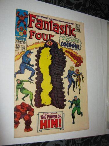 Fantastic Four 67 1st Adam Warlock HIM 1967 Marvel Comic Book Thanos Infinity