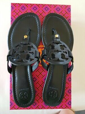 Tory Burch Black Miller Sandals 8.5