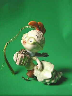 Big Christmas Surprise Ornament (LENOX CHICKEN LITTLE'S BIG CHRISTMAS SURPRISE Disney Ornament NEW in BOX withCOA )