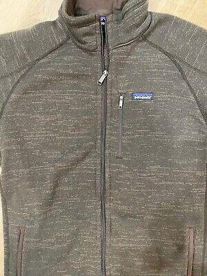 Patagonia Better Sweater Full Zip Men's Fleece Jacket in Brown
