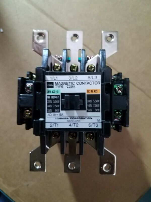 Toshiba C-25A Magnetic Contactor  Coil C-25A-542B*1  NEW