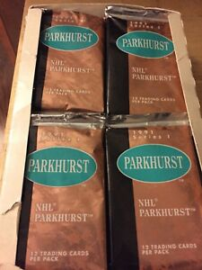 1991 Parkhurst Hockey Cards Series 1 - box Unopened packs