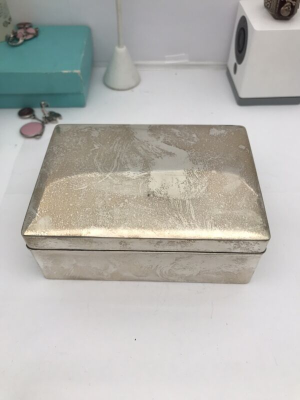 sterling silver Zitan Wood Box China ?