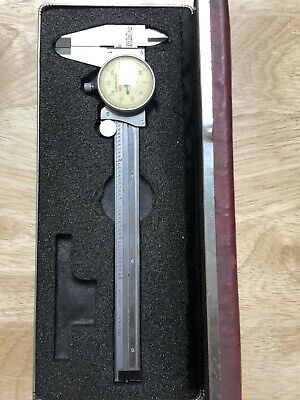 Vintage L.s. Starrett Co. No. 120 Hardened Stainless Dial Caliper