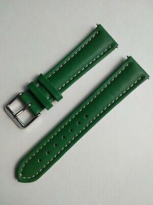 Green Signature Bali Waterproof Watch Band Calf Leather + pins