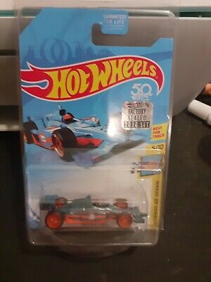 Hot Wheels 2018 Super Treasure Hunt Indy 500 Oval Gulf Oil Factory Sealed 50th