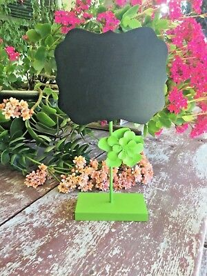 Small Chalkboard  With Flower Stand for Message Board Sign Small Sign Decorative
