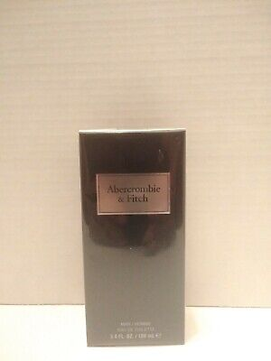 Abercrombie & Fitch EDT  3.4 OZ FIRST INSTINCT BLUE FOR MEN SEALED NEW