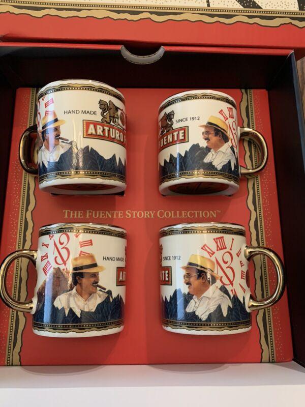 RARE Arturo Fuente Opus X Father and Son Expresso Cups New in Box.