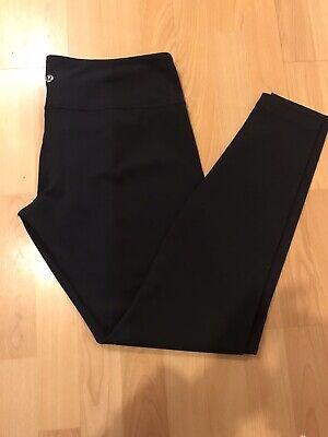Lululemon Leggings Size 12 Black