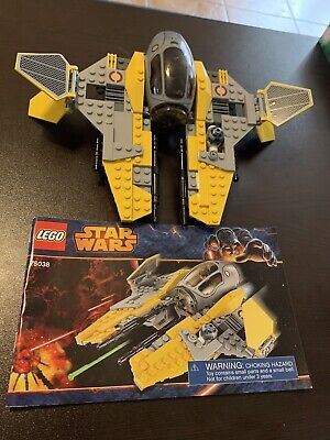 Lego STAR WARS JEDI INTERCEPTOR (75038)100% Complete with manual and minifigs
