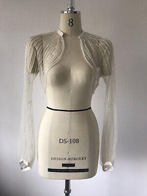 Jenny Packham. Rare. Art Deco. Vintage. Beaded. Wedding Jacket Nwot