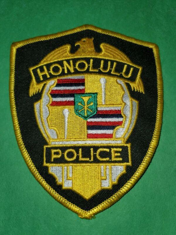Honolulu Police Patch