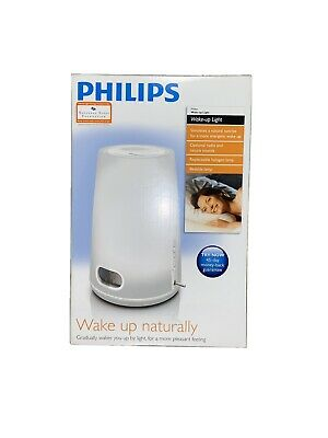 Philips HF3470 Wake Up Light Alarm Clock Natural Sunrise Therapy FM Radio.