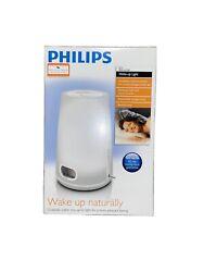 Philips HF3470 Wake Up Light Alarm Clock Natural Sunrise Therapy FM Radio.
