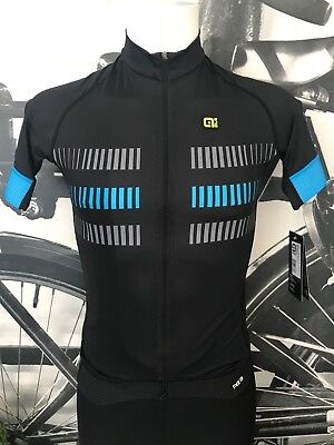 Ale Cycling Short Sleeves Jersey Strada Graphics PRR Men|Black/Blue|AUTHENTIC
