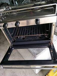Stainless steel Gas Cooker with two burners.  Suits Sail boat Jimboomba Logan Area Preview