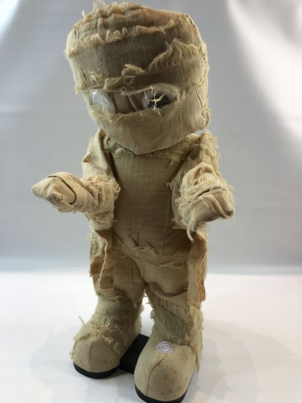 Gemmy Halloween Animated Dancing Plush Mummy Plays Thriller, Tested & Works