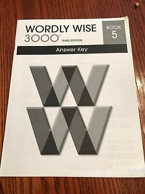 Wordly Wise 3000 Book 5 Third Edition Answer Key (2012) Used