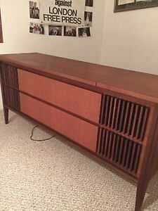 Antique record player system