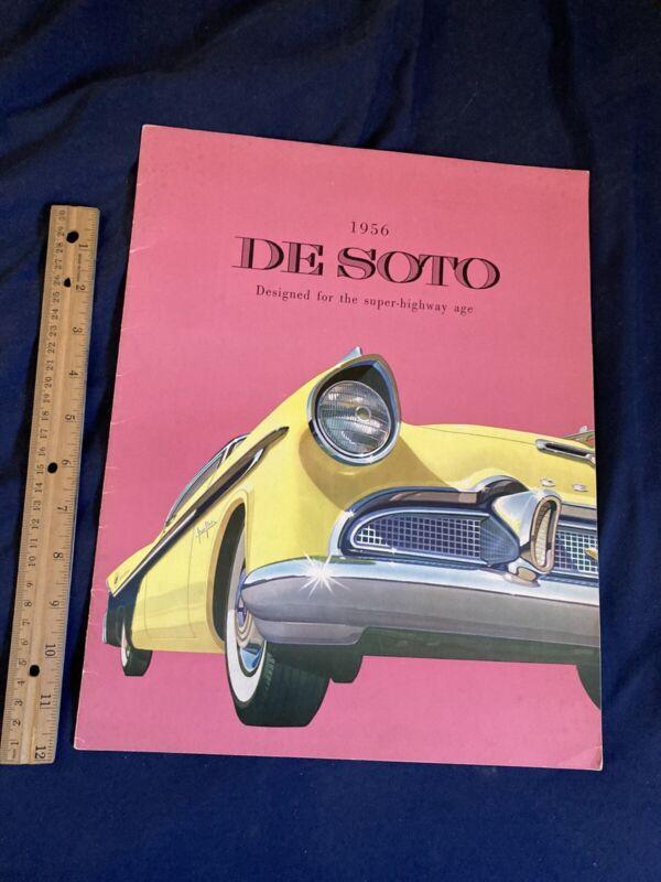 1959 DeSoto Firedome Adventurer Fireflite Color Brochure Catalog Prospekt