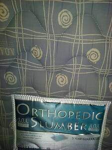THICK Q/S CHIROPRACTIC MATTRESS,BASE, CASTORS Windaroo Logan Area Preview