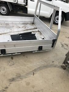 Alloy tray dual cab