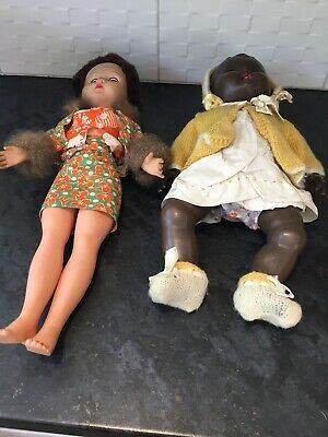Vintage  Dolls, And Clothing