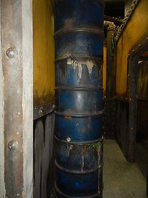 3 Stack Barrels Professional Haunted House Prop ](Halloween Barrel Prop)