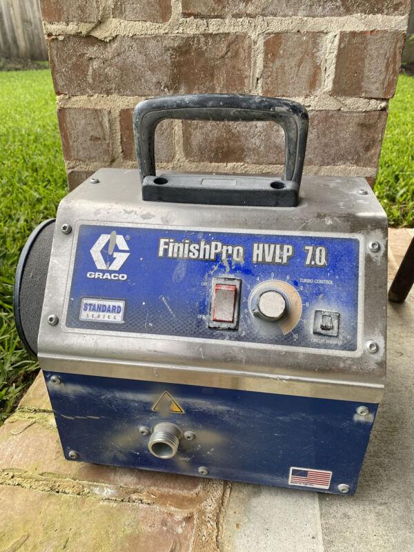 GRACO FinishPro HVLP 7.0 Paint Sprayer Turbine Unit Only Read Description