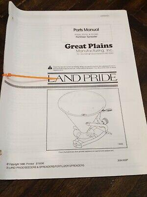 Land Pride Fertilizer Spreader Fs500 Fs700 Fs1000 Parts Catalog Manual