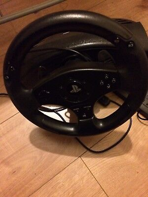 Sony Ps4 Thrustmaster T80 Racing Steering  Wheel And Pedals segunda mano  Embacar hacia Spain