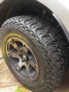 Fuel Beast Wheels with Mickey Thompson 265/70/r17 Baja ATZp3 Bli Bli Maroochydore Area Preview