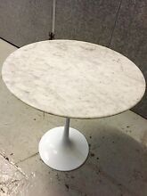 Tulip replica Eero Saarinen side table - marble Darling Point Eastern Suburbs Preview