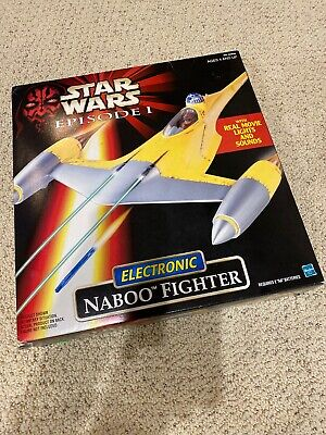 Star Wars Episode 1 NABOO FIGHTER MISB - SEALED - # 84099 Star Wars Naboo Fighter