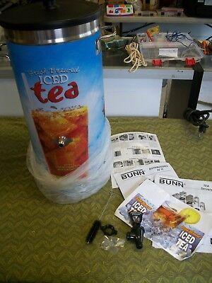 (BUNN ICED TEA DISPENSER URN TDO-3.5-3.5LP-4-5 NEW IN BOX free shipping)