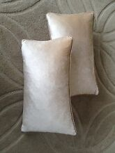 Laura Ashley Beige Velveteen Cushions West Ryde Ryde Area Preview