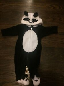 Newborn Panda Halloween costume