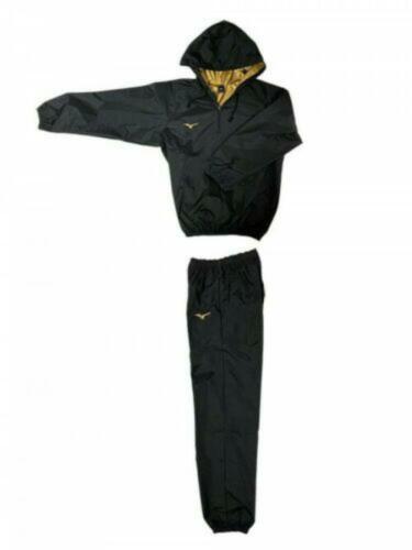 Mizuno Sauna suit Prize fighter specifications Black x Gold logo